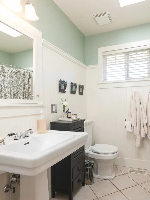Beadboard Paneling In Bathroom  Houzz