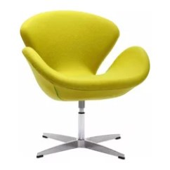 Mid Century Egg Chair Gold Wing Back Chairs 50 Most Popular Midcentury Modern For 2019 Houzz Zuo Contemporary Pori Green Armchairs And Accent