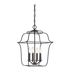 Urban Ambiance Luxury Colonial Black Chandelier Small Chandeliers