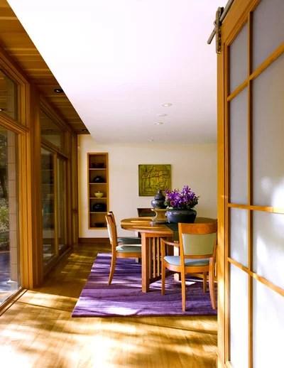 Contemporaneo Sala da Pranzo by Marcus Gleysteen Architects