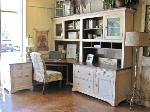corner desk home office ideas Country Home Office Ideas, Pictures, Remodel and Decor