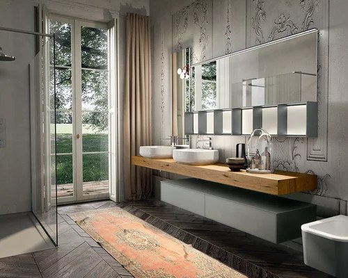 Italian Bathroom Vanity  Houzz