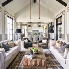 Ideas For Walls In Living Room Best Modern Ceiling Design 2017 75 Most Popular Transitional 2019 Example Of A Open Concept Carpeted And Gray Floor Other With