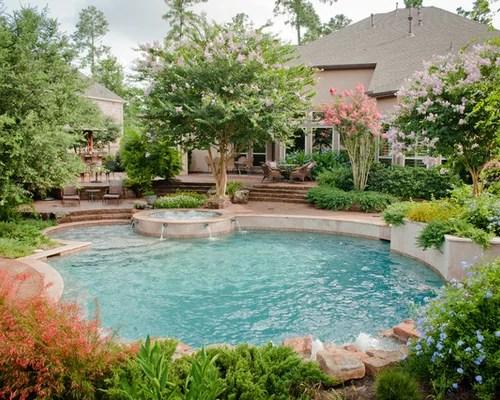 Backyard Pool Landscaping Ideas Houzz