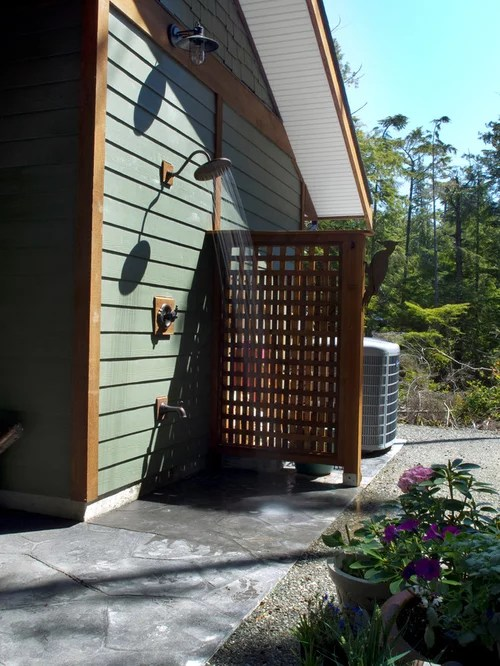 Hide Garbage Cans  Houzz
