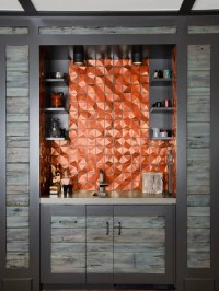 Copper Accent Wall Home Design Ideas, Pictures, Remodel ...