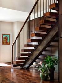 Best Stair Wood Beam Stringer Design Ideas & Remodel ...