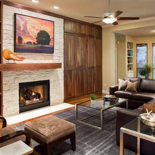 chadwick sofa ethan allen reviews real italian leather sectional houzz clear all inspiration for a contemporary living room remodel in austin with standard fireplace and stone