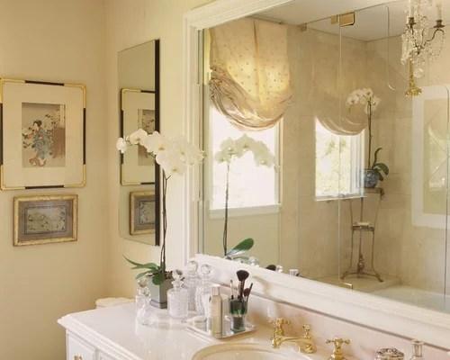 Framed Bathroom Mirror Design Ideas Amp Remodel Pictures Houzz