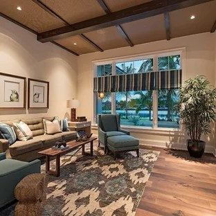 living rooms with blue and brown ideas room design photos houzz large elegant open concept medium tone wood floor photo in miami beige walls