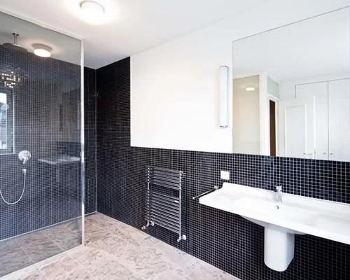 Moderne Kleine Bader Nur Mit Dusche Installationsmasse