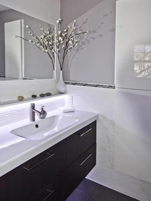 5913 Modern Powder Room Design Ideas  Remodel Pictures