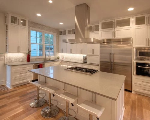 stainless steel kitchen faucet with pull down spray wallpaper backsplash modern traditional design ideas & remodel pictures ...