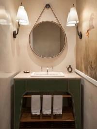 Powder Room Mirror | Houzz