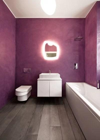 Bagni in resina per un bagno senza piastrelle