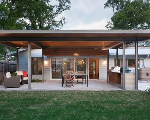 Extended Roof  Houzz