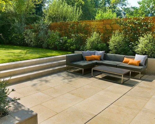 Best Contemporary Step Up Patio Design Ideas & Remodel Pictures