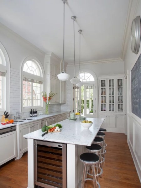 long narrow kitchen design ideas Long Narrow Kitchen Island | Houzz