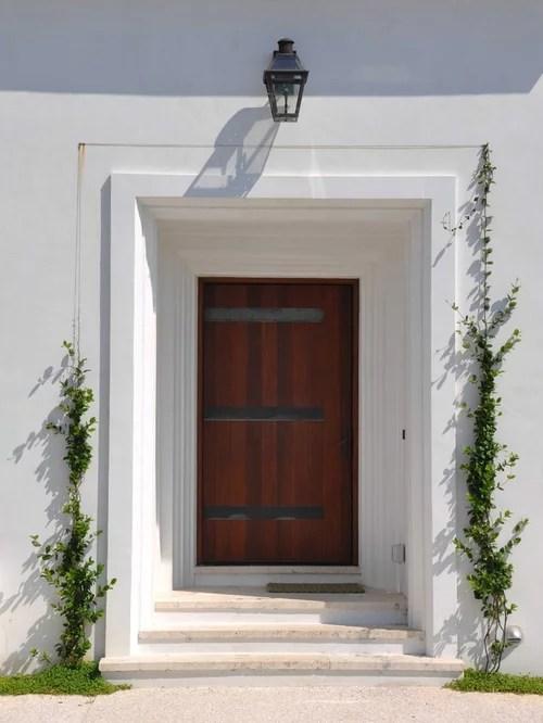 Recessed Front Door  Houzz