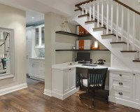 Home Offices with Built-In Desks   Houzz