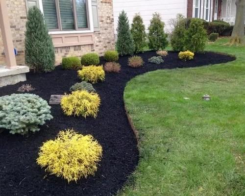 553 front yard landscape design