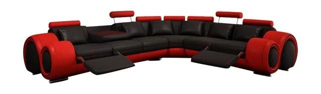 white bonded leather sectional sofa set with light best repair kit for divani casa 4087 modern ...