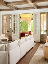 Living Room French Door | Houzz