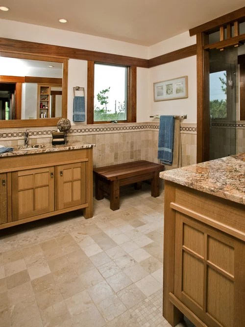 Craftsman Style Bathroom Home Design Ideas Pictures Remodel and Decor