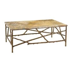 John Richard Branch Cocktail Table with Marble Top EUR-03-0224