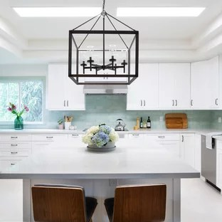 kitchen remodel hawaii corian countertops 75 most popular design ideas for 2019 stylish transitional designs inspiration a u shaped porcelain floor and beige