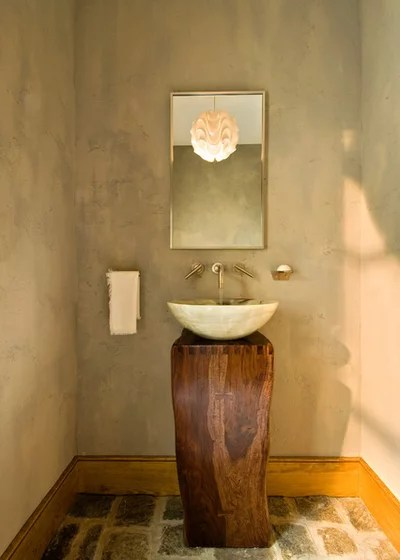 Rustic Bathroom by Witt Construction