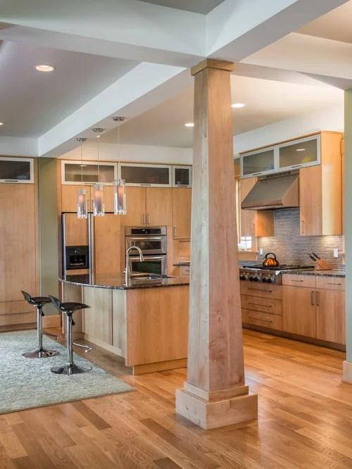 craftsman style kitchen cabinets lighting for kitchens interior columns | houzz