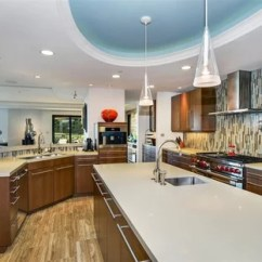 How To Design The Kitchen Ceramic Tile 75 Most Popular Contemporary Ideas For 2019 Stylish Open Concept Photos Example Of A Trendy Beige Floor