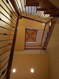 Square Spiral Staircase Home Design Ideas, Pictures ...