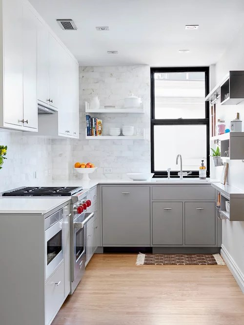 Small Ushaped Kitchen Design Ideas & Remodel Pictures  Houzz