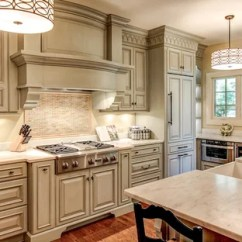 Off White Kitchen Cabinets Design Your Own Layout Houzz Traditional Ideas Example Of A Classic In Louisville With An Undermount Sink
