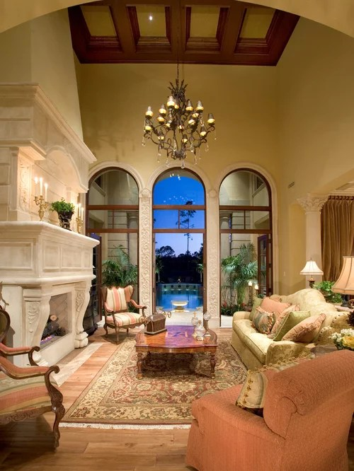 Luxury Fireplace Home Design Ideas Pictures Remodel And