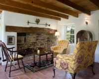 Walk-In Fireplace Home Design Ideas, Renovations & Photos