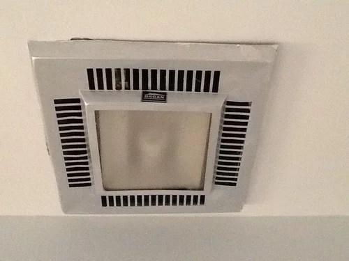 old bathroom ventilation fan