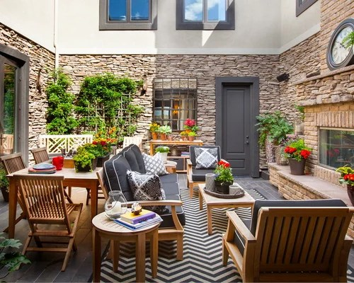 Enclosed Courtyard Home Design Ideas Pictures Remodel
