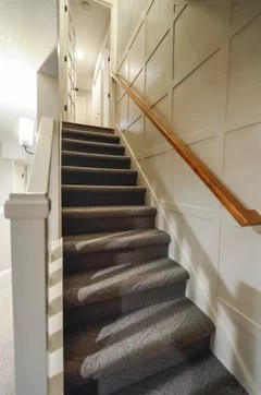 best way to light basement stairs