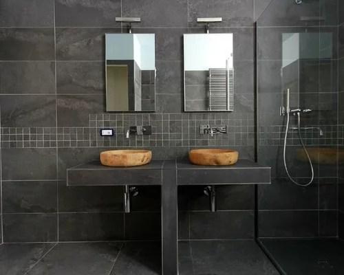 Stanza da bagno con doccia moderna  Foto Idee Arredamento