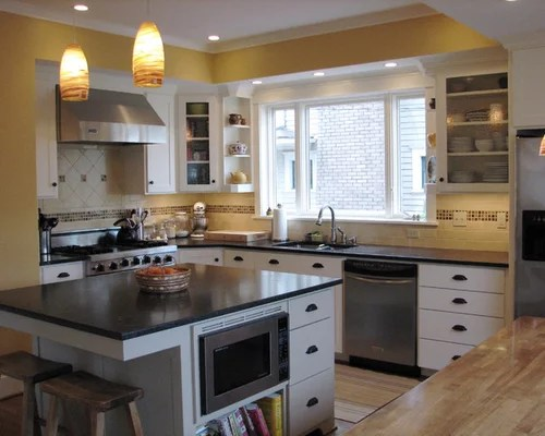 floating kitchen island industrial hardware backsplash ideas | houzz