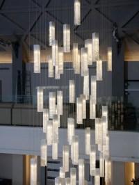 CONTEMPORARY FOYER LIGHTING, MODERN ENTRY CHANDELIER FOR ...