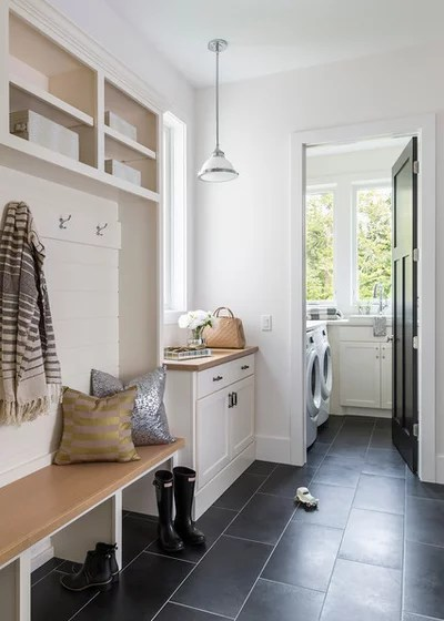 Traditional Laundry Room by WEST BAY HOMES real estate development