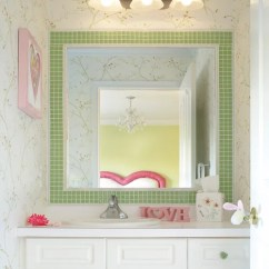 Kitchen Sink Baby Bath Tub Coiled Faucet Tile Border Around Mirror Home Design Ideas, Pictures ...