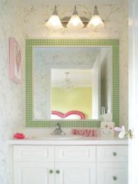 Tile Border Around Mirror Home Design Ideas, Pictures ...
