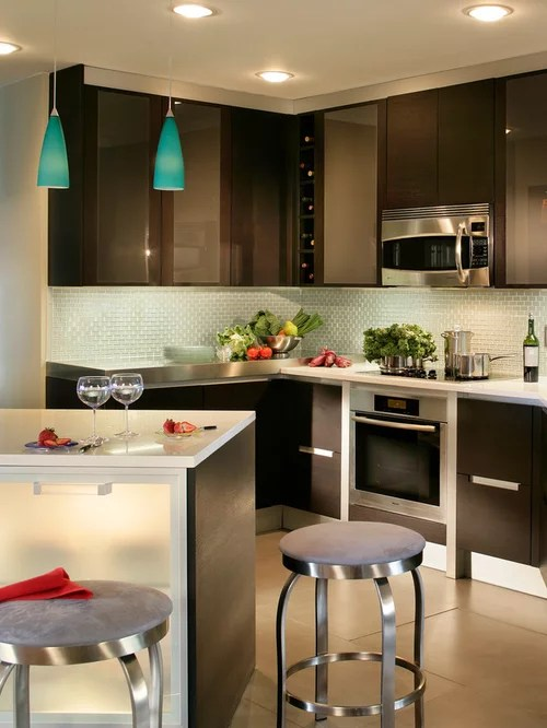 Modern L Shaped Kitchen