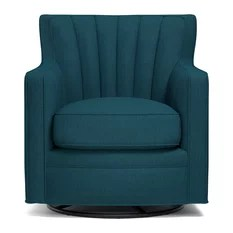turquoise accent chairs coombs chair valet stand 50 most popular armchairs and for 2019 houzz handy living zerk swivel arm peacock blue linen