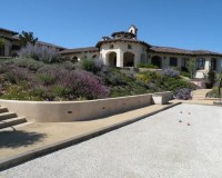 Stucco Retaining Wall Home Design Ideas, Pictures, Remodel